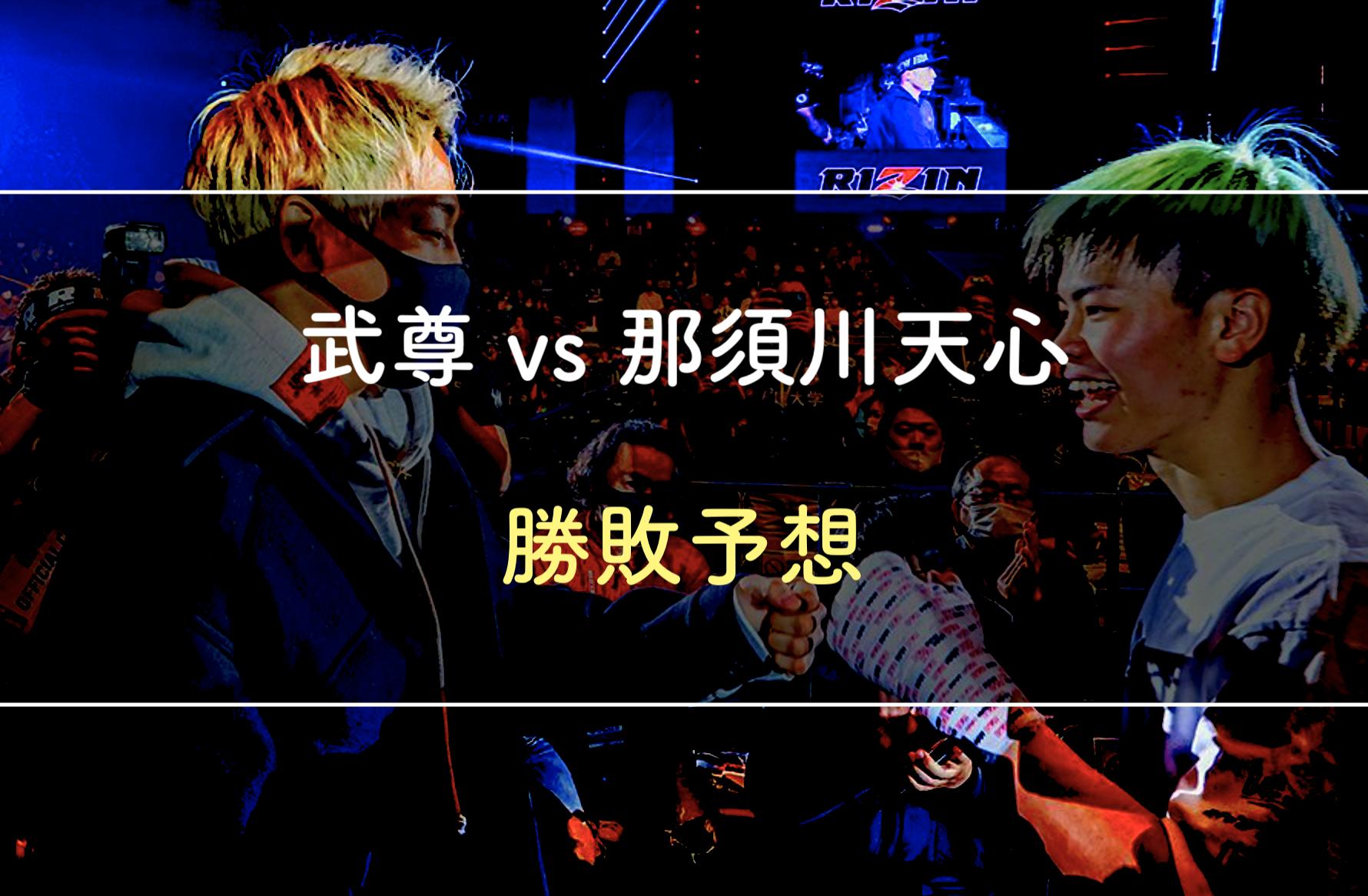 【勝敗予想】武尊vs那須川天心|元格闘家が徹底解説します